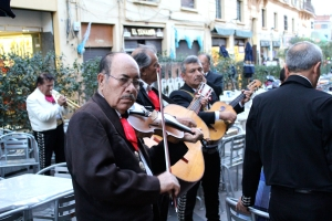 Mariachi in Plaza Garibaldi